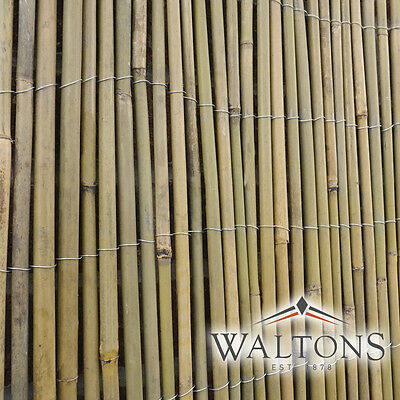 Bamboo Screening Roll Screen Fencing Garden Fence Panel Outdoor 4m Long