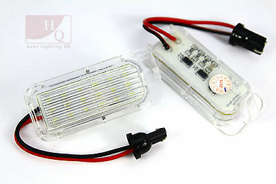 LED Can Bus License Licence Number Plate Light Lamp fit Ford Mondeo Mk4 2007 ->