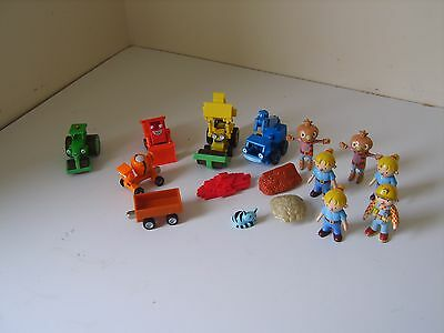 bundle Bob the Builder diecast vehicle and figures