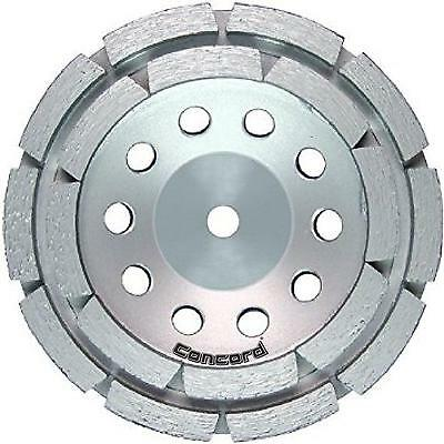Concord Blades GCD045FHP 4.5 Inch Double Rowed Cup Wheel with 5 8 11mm Thread