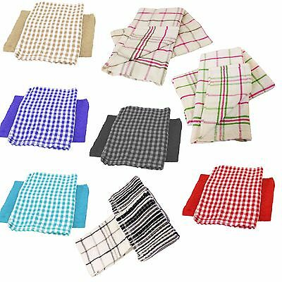 Kitchen Hand & Cleaning Cotton Towels Clothes Plain & Striped