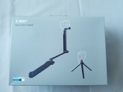 New 3-Way Adjustable Monopod Mount Hand Grip For Action Camera For GoPro Hero