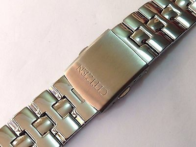 20Mm Citizen Polished Stainless Steel Gents Watch Strap Straight End (Cz1)