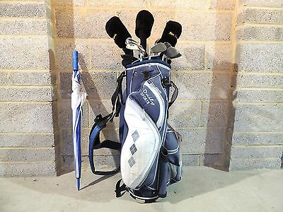 Full Set Of Ladies Womens Right Hand RH Ben Sayers Golf Clubs Bag & Extras