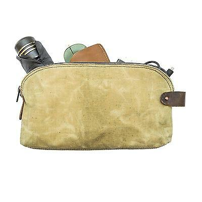 Waterproof Waxed Canvas All Purpose Utility Bag With Durable Lining