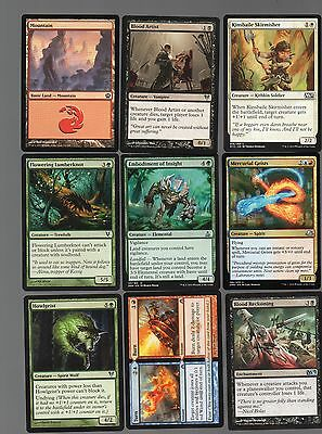 Magic the gathering MTG lot of 18 mixed cards < Free Postage > lot 13