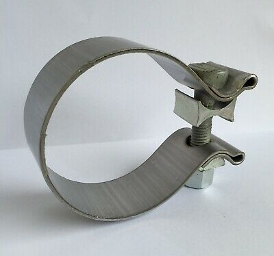 "2.5"" 63.5mm Stainless Steel Heavy Duty Exhaust Band Clamp Magnaflow 10162"