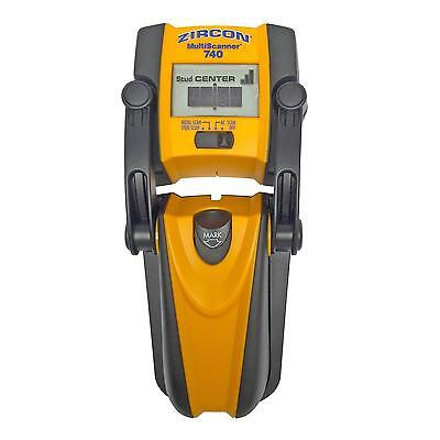 Zircon MS 740 Center Finding Stud Finder with Metal Detection and Live AC...