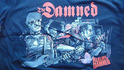 Realm of THE DAMNED T-Shirt Size XL.New.Punk,Rock,Goth,Horror,Sex Pistols,Clash.