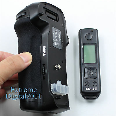 Meike MK-D500 Pro 2.4G Remote Control for Nikon D500 as MB-D17 Battery Grip