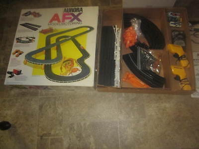 Aurora AFX model motoring slot car track