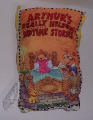 Storybook Pillow Arthur's Really Helpfull Bedtime Stories! OOP & Rare