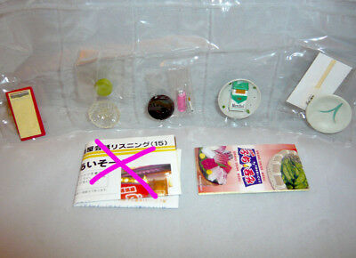 Rare! Re-ment Miniature Student Stationery No.2 Watercolor, Color Mixing Tray
