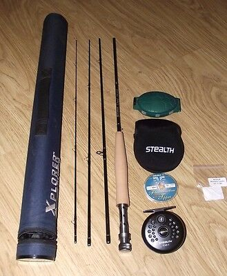 Xplorer Classic Fly Rod And Reel