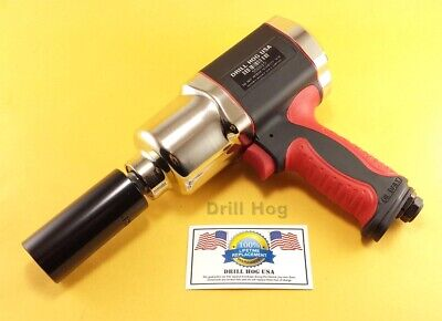 Drill Hog® 1/2 Air Impact Wrench Tool Composite 1000 LBS Power Lifetime Warranty