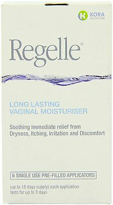 Regelle Vaginal Moisturiser pack of 6 applications
