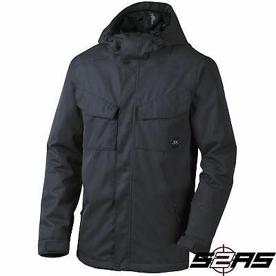 2017 Oakley Combustion Biozone Insulated Men's Snow Jacket (Black)