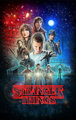 """Stranger Things (11"""" x 17"""") Movie Collector's Poster Print - B2G1F"""
