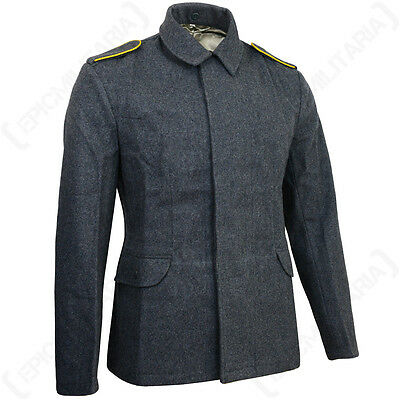 WW2 Luftwaffe Fliegerbluse - German Repro Tunic Jacket Blue Pilot Uniform New