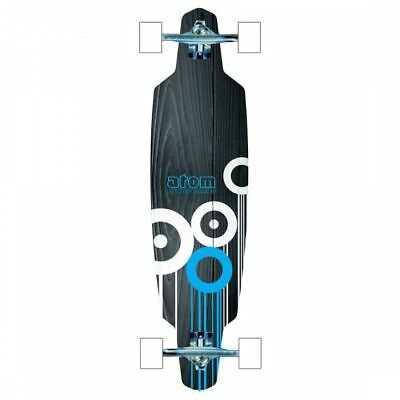 "Atom 36"" Drop Through Longboard Blue"