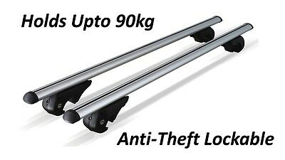 SKODA OCTAVIA ESTATE 00-04 ALUMINIUM ROOF BARS