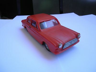 Rare Vintage Flim Lemez Friction Tin&plastic Toy Car Ford Taunus Made By Foreign