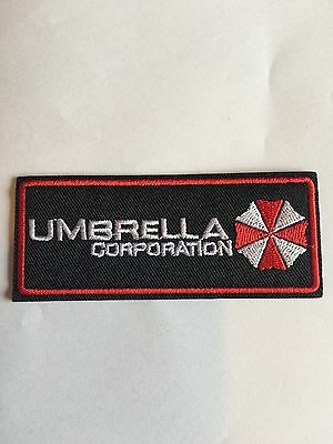 Umbrella Corp Uniform Patch - iron on patch
