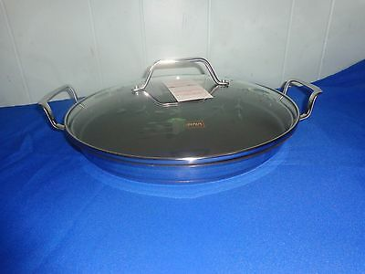 """Princess House Culinario Series 13"""" Round Griddle New In Box #6977"""
