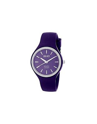 Orologio Liu-Jo LUXURY Silicone SPRINT Dark Purple/Silver - TLJ1145