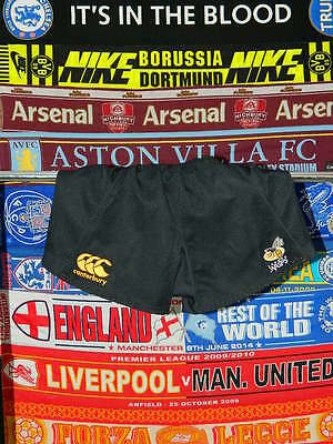 """5/5 London Wasps adults 36"""" canterbury rugby union shorts"""