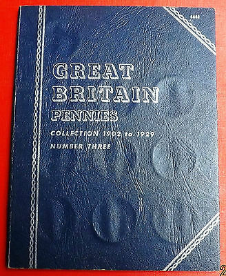 British  Whitman Folder  For  Pennies 1901 To 1929