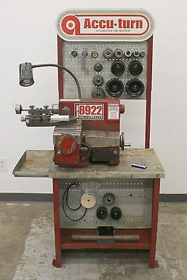 Bosch 8922 Brake Lathe for Rotors & Drums Accu Turn Disc AccuTurn