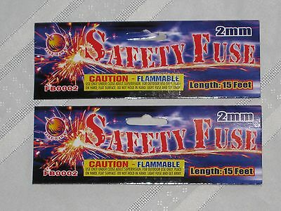 "Fire Hawk Safety ""Cannon Fuse"" Labels Free Shipping"