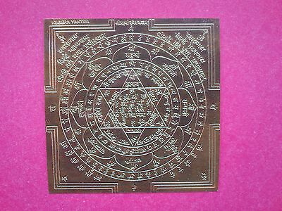 Vajra Mantra Mandala  Kubera Yantra Tibetan Thangka ATTRACT MONEY