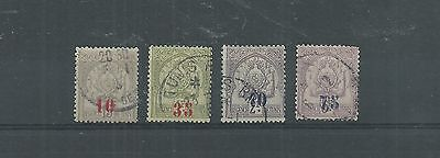 Tunisia 1905 Surcharged Set Used