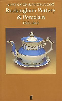 Antique English Rockingham Swinton Pottery Porcelain Creamware / Scarce Book