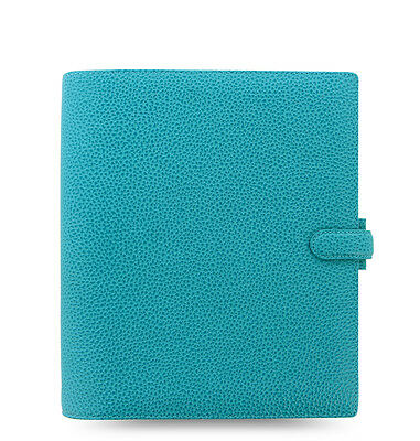 Filofax A5 Finsbury Leather Organizer Aqua Color Leather- 18-025443  Brand New