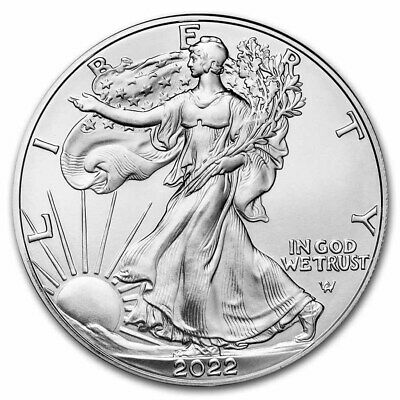 SILVER EAGLE 2019 1$ once argent pur .999 Etat Unis USA ounce oz