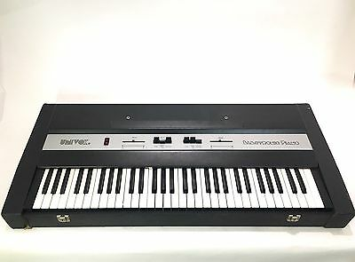 Univox Electronic Piano Ep210 Vintage Keyboard Organ Synthesizer Synth