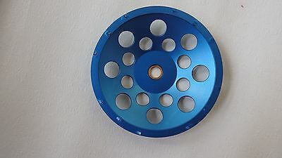"""7"""" PCD Cup Wheel 12pcds, 7/8-5/8"""" for concrete resurf, grinding,coating removing"""
