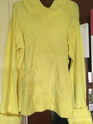 Child's Vintage Terry Towelling Hoodie Age 10/12 Years