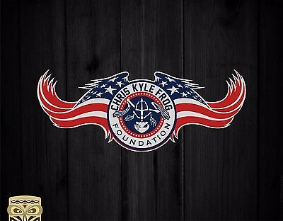 Pegatina Decal Sticker  Adesivi Aufkleber Chris Kyle Foundation American Sniper