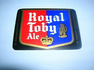 ROYAL TOBY ALE   Anchor Brewery   London