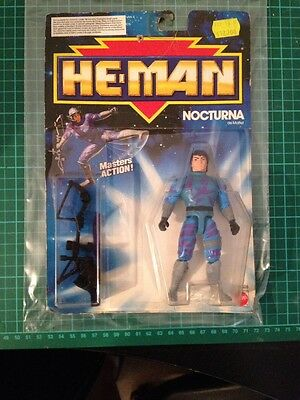 He-Man NA New Adventures Nocturna MOC Masters of the Universe MOTU