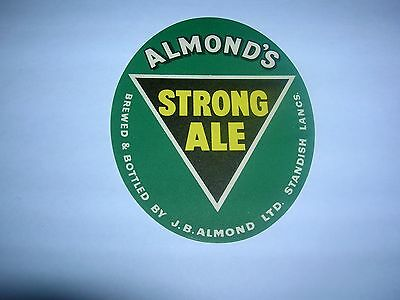 ALMOND'S  Strong Ale   Standish  Lancs.