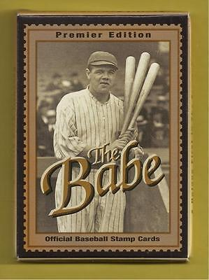 Scott #2913: Babe Ruth Various Portraits-Pack of 12 Cards (Stamps)-1995 Issue-Mi