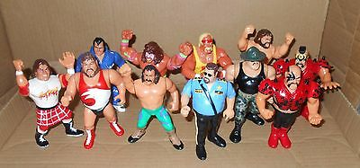 WWF Wrestling - Titan Sports / Hasbro Action Figure Collection (1990's)