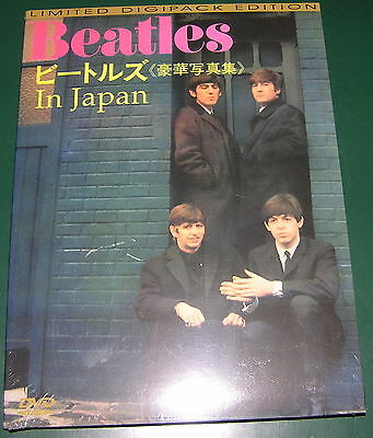 THE BEATLES DVD IN JAPAN DIGIPACK sealed