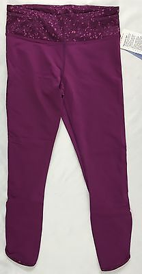 f21ab28c7fde15 Lululemon Women's Real Quick Tight Athletic Leggings Regal Purple 5LE0S  Size 10