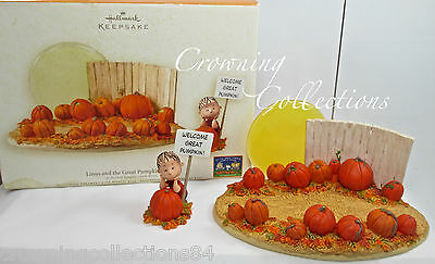 2006 Hallmark Linus and The Great Pumpkin Patch Halloween Peanuts Charlie Brown